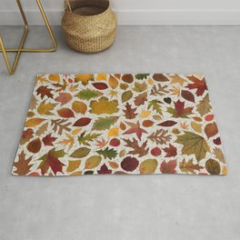 Autumn Leaves Speckle Rug