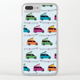 Bongos and bunting Clear iPhone Case