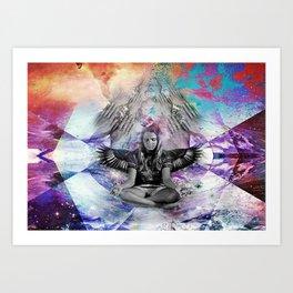 _COSMOS  Art Print