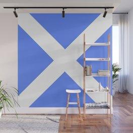 flag of scotland 4– scotland,scot,scottish,Glasgow,Edinburgh,Aberdeen,dundee,uk,cletic,celts,Gaelic Wall Mural