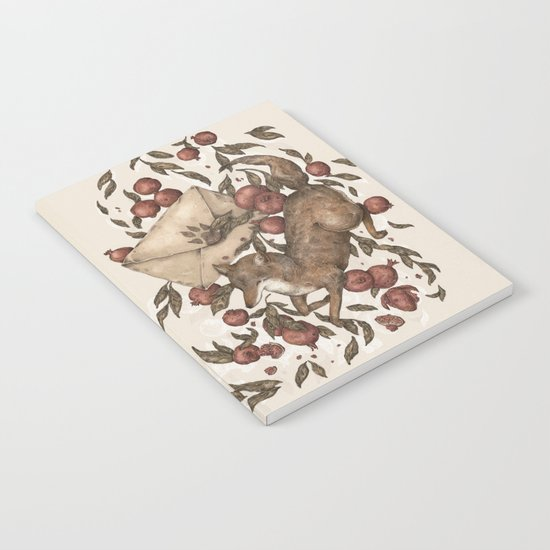 Coyote Love Letters Notebook