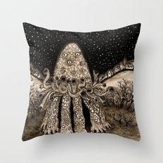 The Horror from Dunwich Throw Pillow