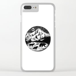 THE JOURNEY Clear iPhone Case