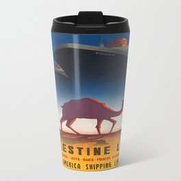 Vintage poster - Palestine Line Travel Mug