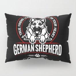German Shepherd Can Speak. Pillow Sham