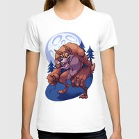 werewolf T-shirts featuring Werewolf by Frankie Green