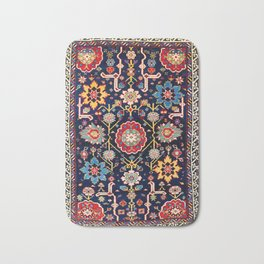 Shirvan Caucasian Afshan Antique Rug Print Bath Mat