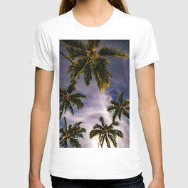 Palm Trees and Stars in Maui T-shirt