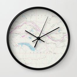 CA Cisco Grove 302716 1955 24000 geo Wall Clock