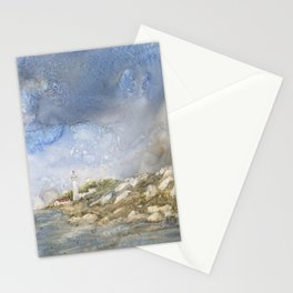 Little Manitou Island Lighthouse Stationery Cards