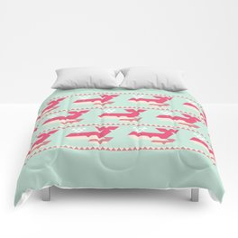 Triangwhales Comforters