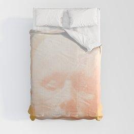 Thoughts orange Comforters