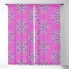 Violet stars Pattern Blackout Curtain