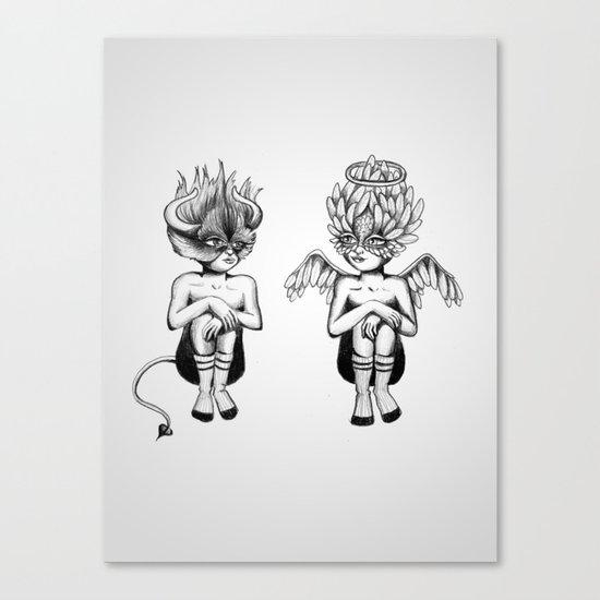 Good or Bad? Canvas Print
