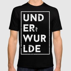 Underwurlde Black Mens Fitted Tee MEDIUM