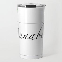 Names.Personalised gift ideas.Annabel Travel Mug
