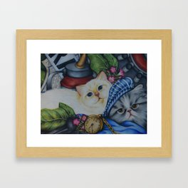 Smalls and Quiche Framed Art Print