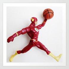 Flash Jordan Art Print