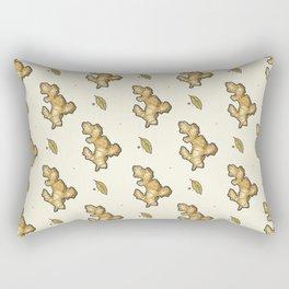 ginger root power Rectangular Pillow