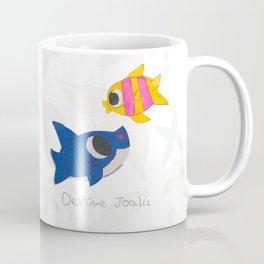 Ocean (Dibujitos de Denise) Coffee Mug