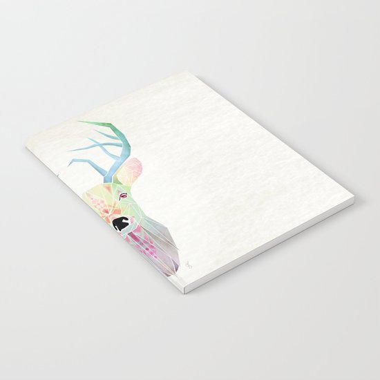 white deer Notebook