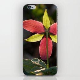 Red Trillium Life iPhone Skin