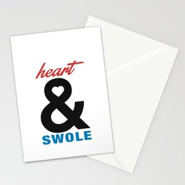 Heart & Swole Stationery Cards