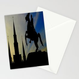Landmark Silhouettes in Casa de Armas Stationery Cards