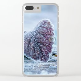 Feel the heartbeat Clear iPhone Case