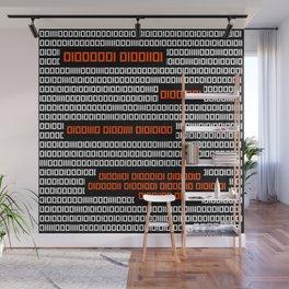 AM I NOT MERCIFUL? - Binary Code Wall Mural