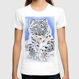 Snow Leopard Pose T-shirt