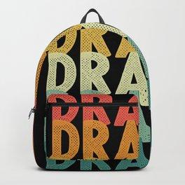 Dragon retro vintage dragon fire Backpack
