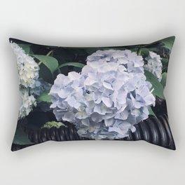 Hydrangeas & Hose Rectangular Pillow