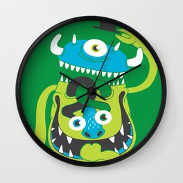 Mister Greene Wall Clock