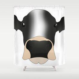 Bonte Koe Shower Curtain