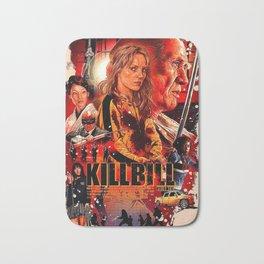 kill bill movie posters Bath Mat