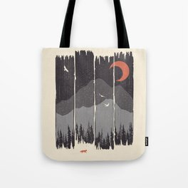 Winter Mountain Weather... Tote Bag