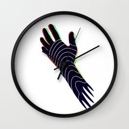 Black lives matter by #Bizzartino Wall Clock