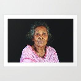 Island mother (Moluccas, Indonesia) Art Print