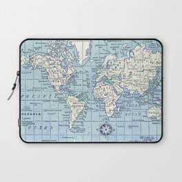 A Really Nice Map Laptop Sleeve