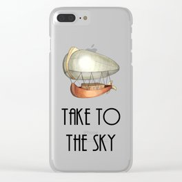 Take to the Sky Clear iPhone Case