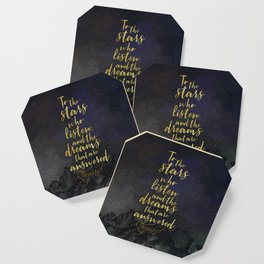 To the stars who listen...A Court of Mist and Fury (ACOMAF) Coaster