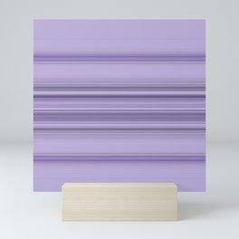 Pantone Purple Stripe Design Mini Art Print