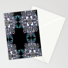 Internal Kaleidoscopic Daze-15 Stationery Cards