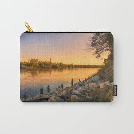 Missouri River Sunset Carry-All Pouch