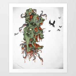 CORN FLAKES. Art Print