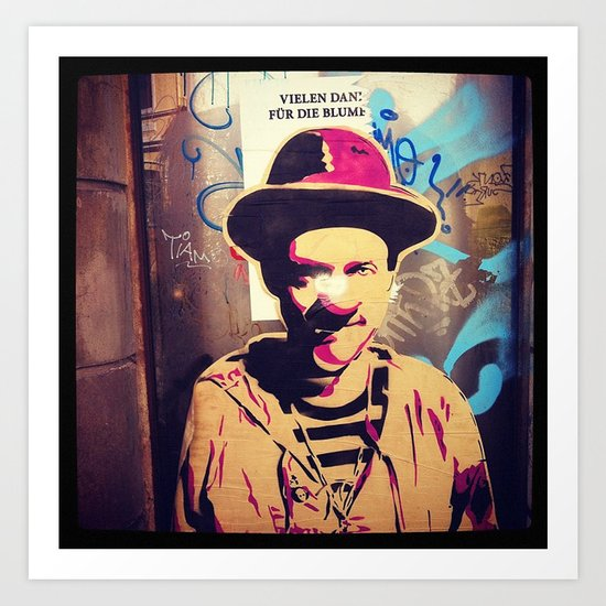 :: STREET ART //PART I - BREMEN Art Print