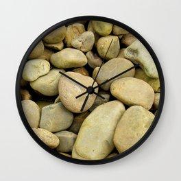 Stone Gold Wall Clock