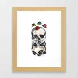 Gravity Framed Art Print