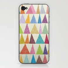 Analogous Shapes In Bloom. iPhone & iPod Skin